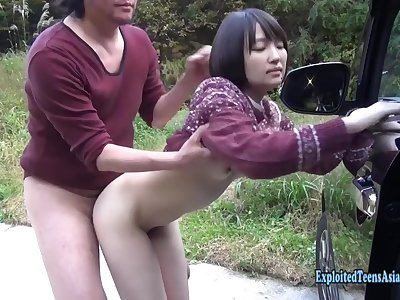 Exclusive Scene Jav Amateur Teen Suzu Inhales And Fucks Outdoors