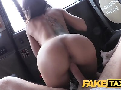 Fake Taxi Spanish babe has great bosoms and ass