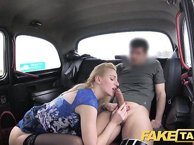 Faux Taxi Horny milf wants midday fuck