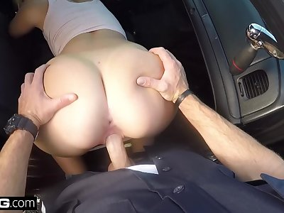 Screw The Cops - insatiable phat white gals gets fucked by cop