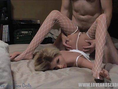 Blonde, red, brunette sex dolls compilation. It's all TPE, no silicone