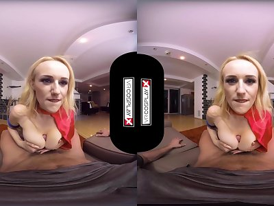 Supergirl Point of view HUGE TITS Milf Fucked Hard in VR Angel Wicky VRCosplayX com